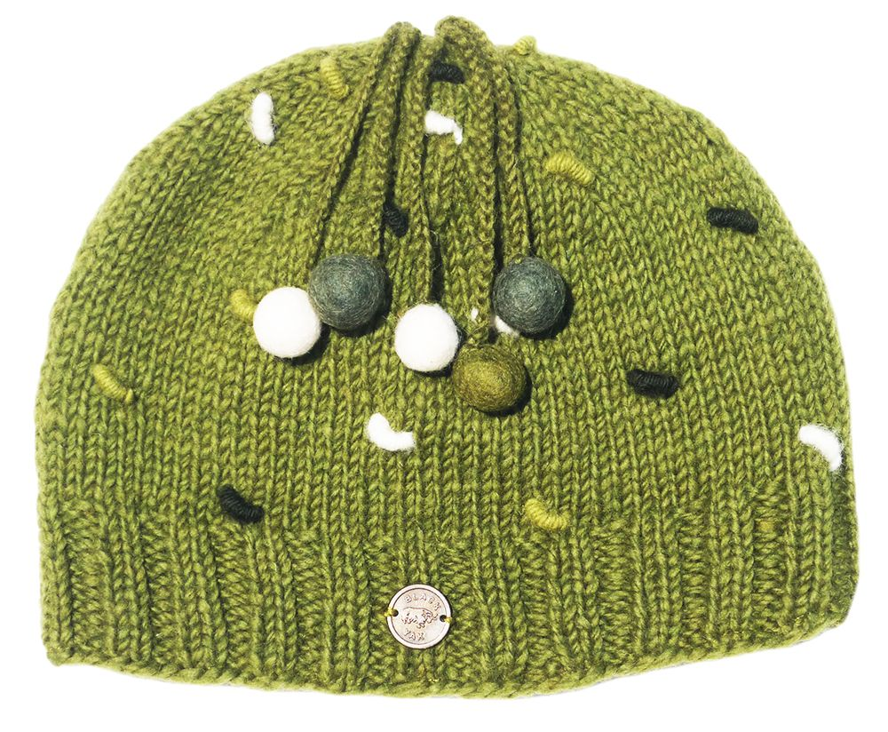 French Knot Beanie at Black Yak