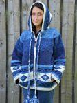 Wool Pixie hood