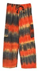Tie Dyed Trousers Desert