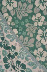 Hibiscus Blanket/shawl Green