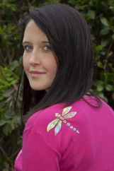 Dragonfly top Pink