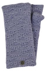 Fleece lined textured wristwarmers allure