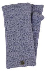 Fleece lined textured wristwarmers allure