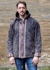 Gheri border edge jacket Black/Multi coloured