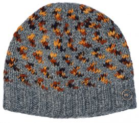 Pure wool Wings Beanie Grey/browns